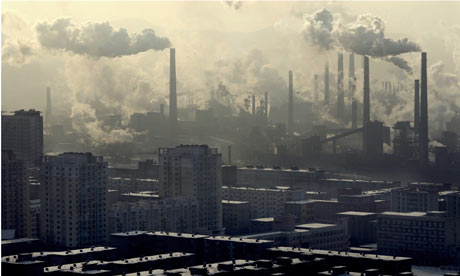 history of environmental issues in china